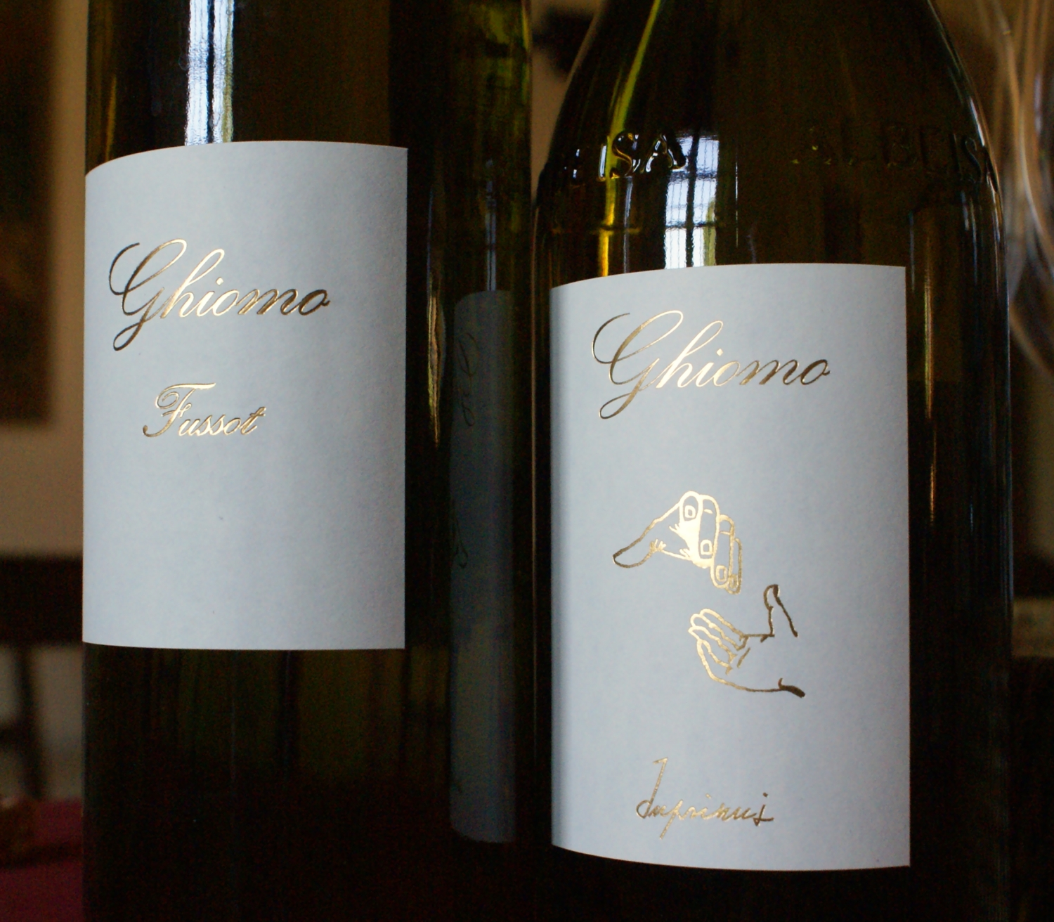 The best Arneis money can buy: Ghiomo's Fussot and ambitious Inprimis.