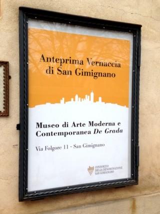 Anteprima Vernaccia di San Gimignano