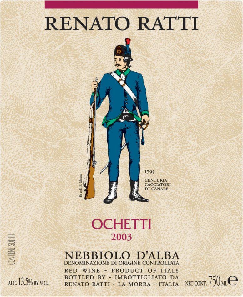 Renato Ratti Nebbiolo d'Alba Ochetti