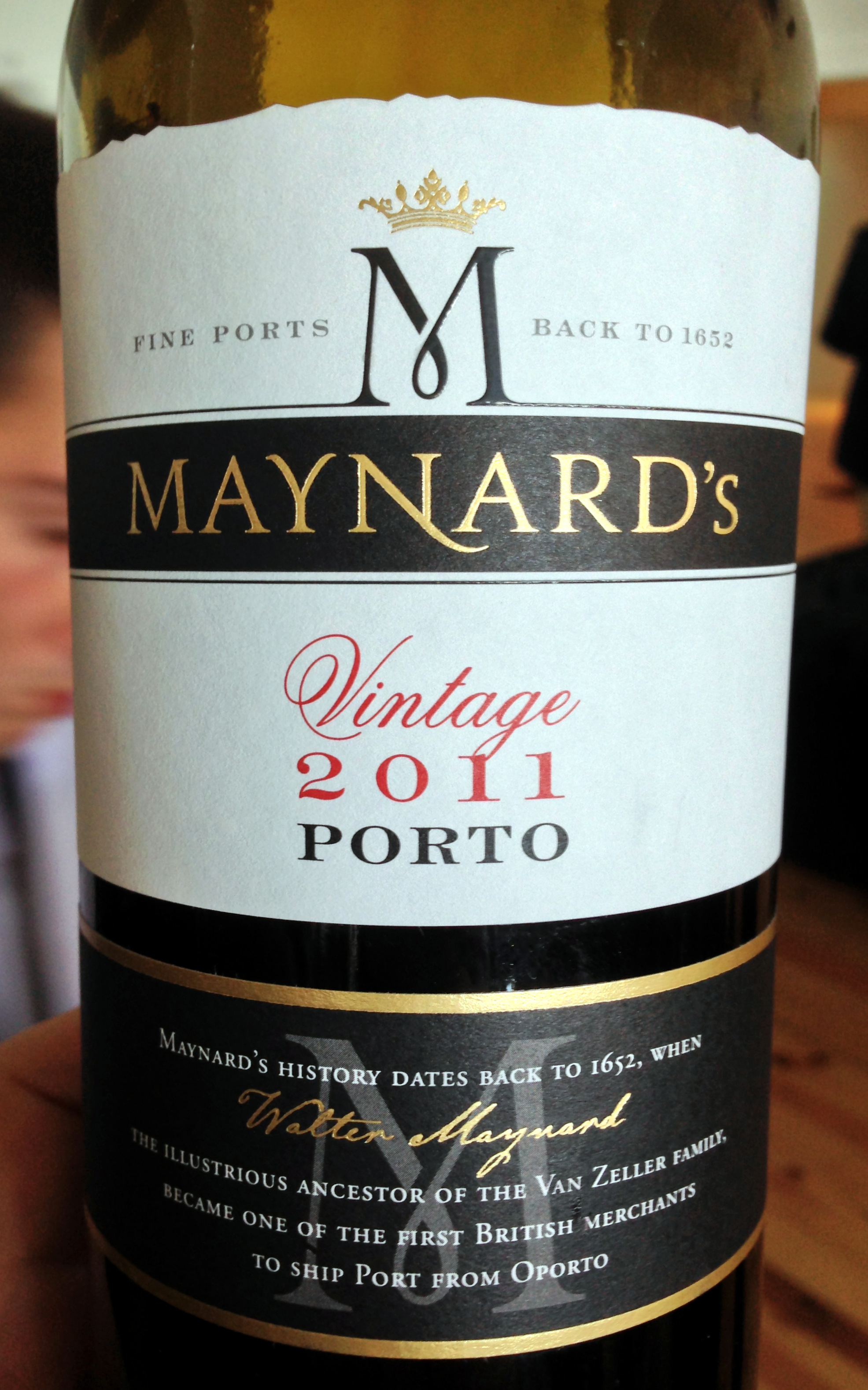Maynard's: the schocker of the vintage.