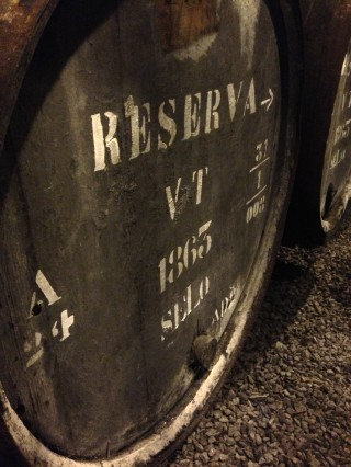 Krohn 1863: only three casks left of this, apparently the oldest port still ageing in oak.