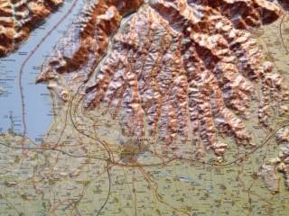 relief map Verona