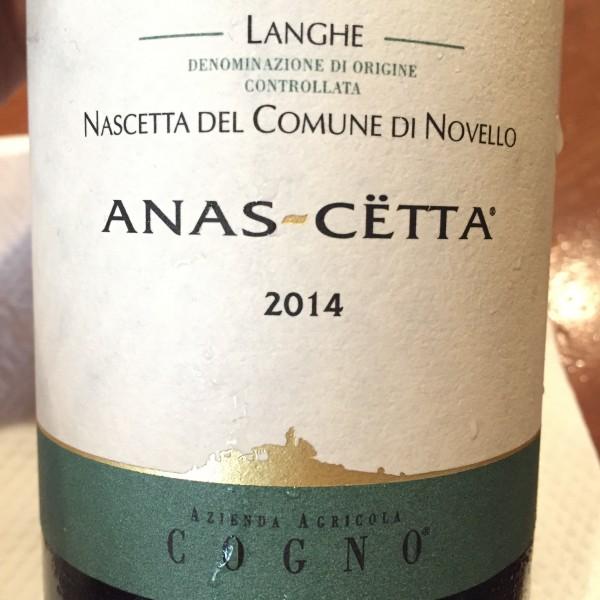 Elvio Cogno Langhe Nascetta 2014