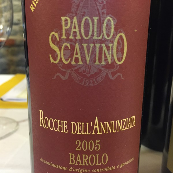 Enrico Scavino Barolo Riserva Rocche dell'Annunziata 2005