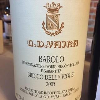 G. D. Vajra Barolo Bricco delle Viole 2005