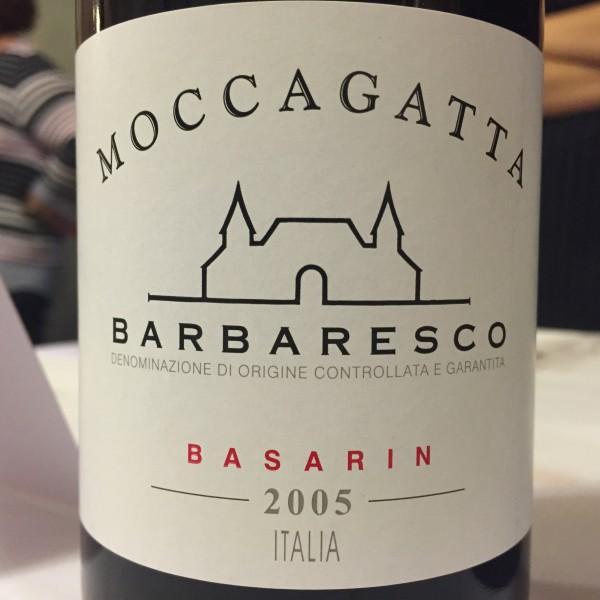 Moccagatta Barbaresco Basarin 2005