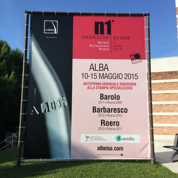 Nebbiolo Prima 2015 poster